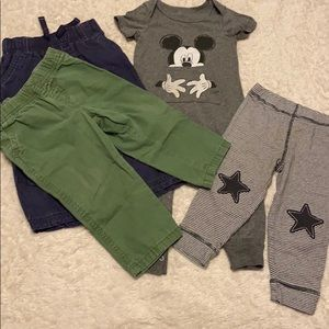 Mickey onesie & pants Lot